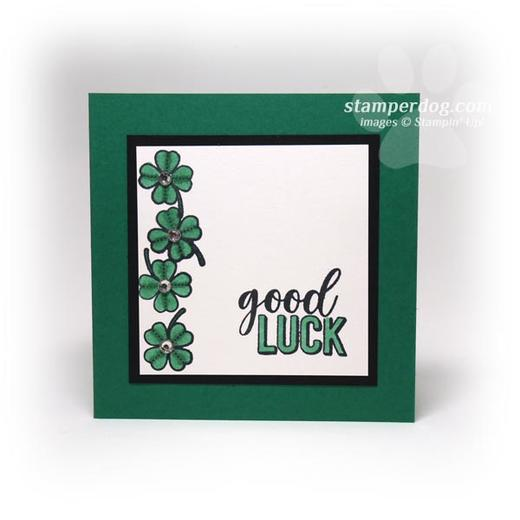St. Patrick's Day Square Card