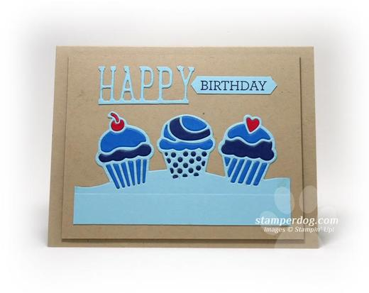 Masculine Birthday Card Idea