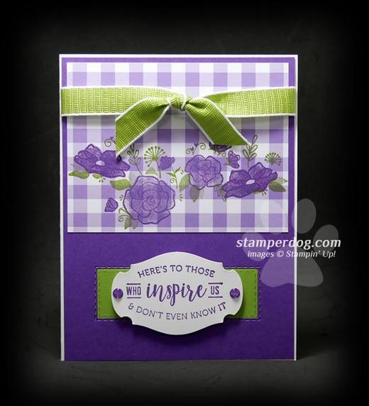 Making a Purple Card