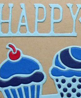 Masculine Blue Birthday Card