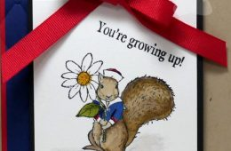 Spring Kids Birthday Card