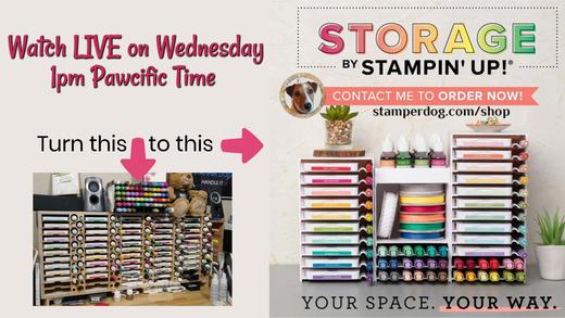 Stampin' Up! Storage