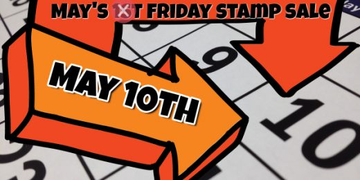 First Friday Stamp Sale