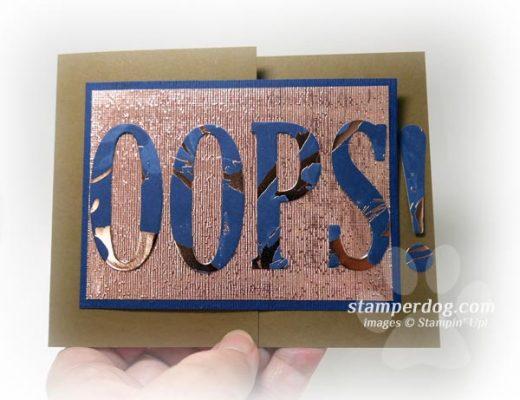 Oops Card Idea