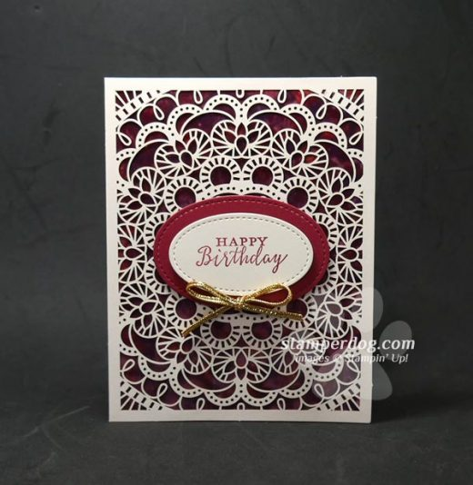 Easy and Elegant Polished Stone Card