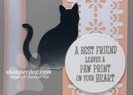 Cat Sympathy Card for a Good Friend