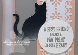 Cat Sympathy Card for a Good Friend