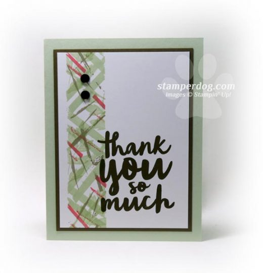 Quick Thank You Card