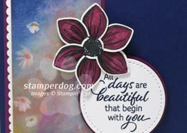 Making Flowers Grow from the Stampin' Up! Catalog