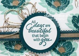 Stampin' Up! Color Challenge