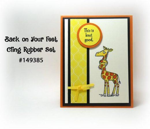 Giraffe Get Well Card Idea
