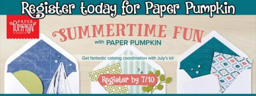 July Paper Pumpkin