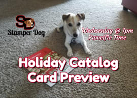 Holiday Card Preview and Craft Room Organization