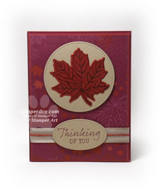 Fall Thinking of You Card