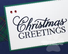 Simple and Quick Christmas Card
