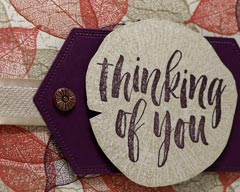 Thinking of You Fall Card