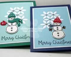 Snowman Christmas Cards Ideas.Christmas Card Ideas Stampin Up Demonstrator Ann M