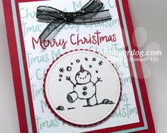 Love Snowman Christmas Cards?