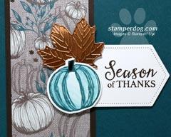 Fall Thank You Card Idea