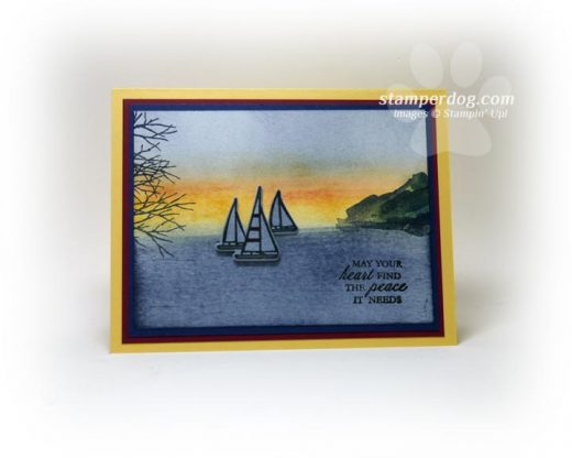 Scenic Greeting Card