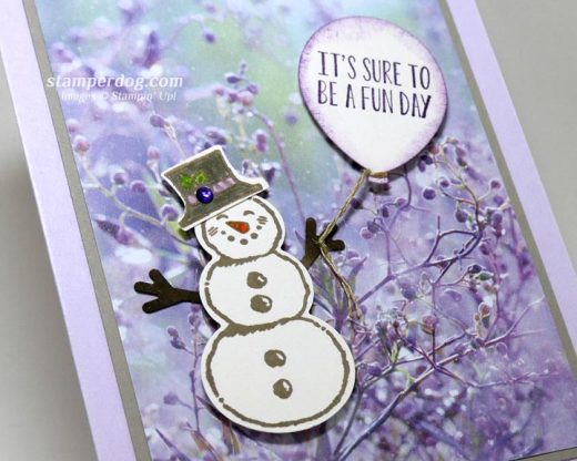 Quick and Easy Snowman Invitation