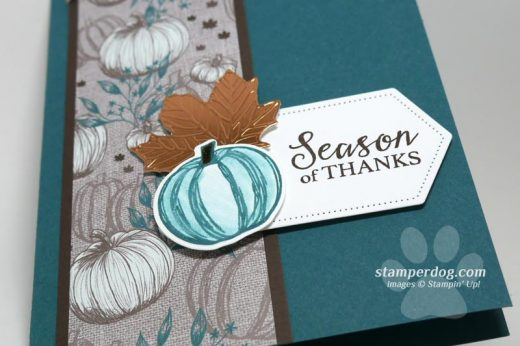 Fall Thank You Card Idea