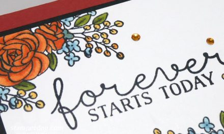 Making the Perfect Fall Wedding Card