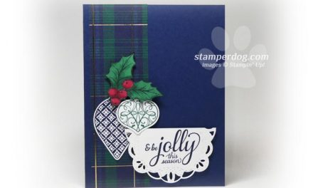 Different Take on the Christmas Ornament Card