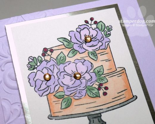 Sneak Peek Birthday Card