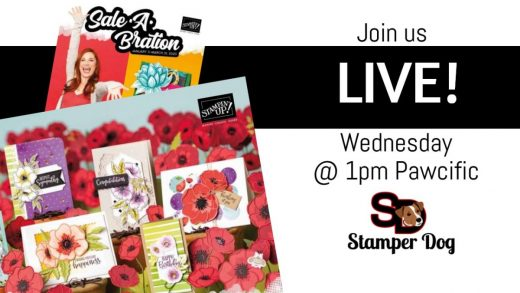 Wednesday Live Stream Card Making