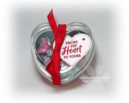 Heart Shaped Gift Tins