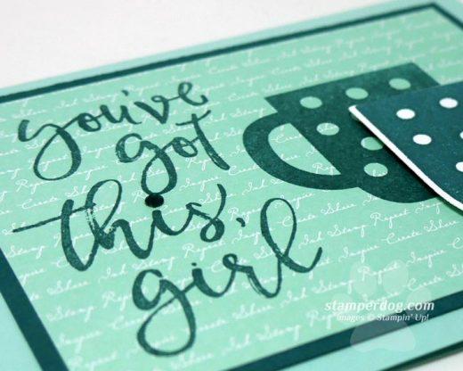 Encouraging Coffee Card
