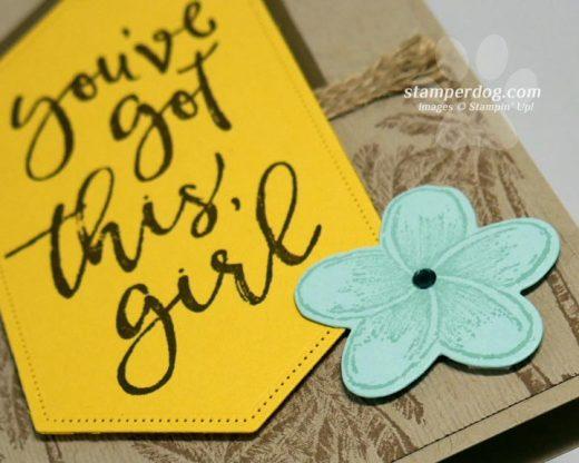 Encouraging Card