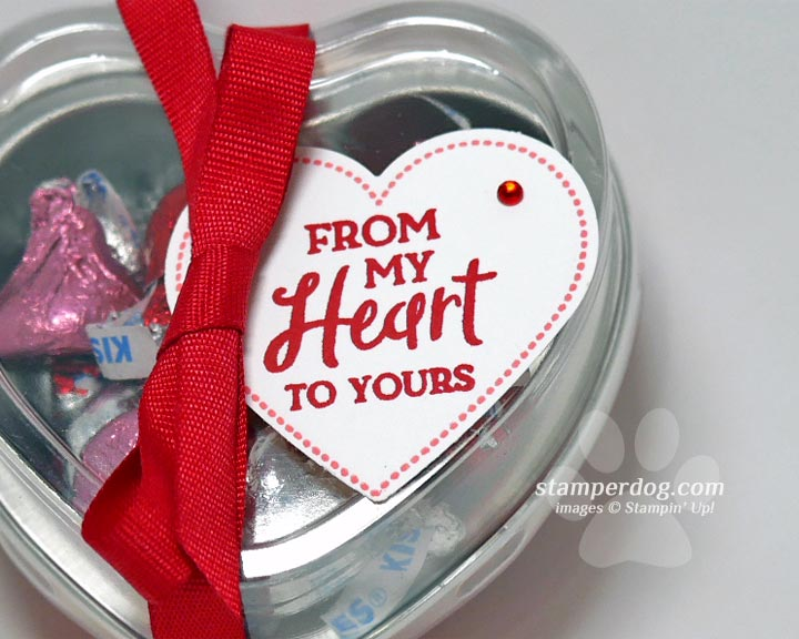 Quick and Easy Heart Shaped Gift Tins