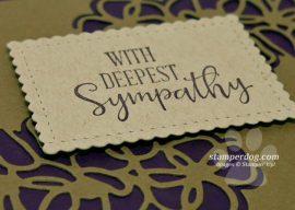 Simple and Elegant Sympathy Card