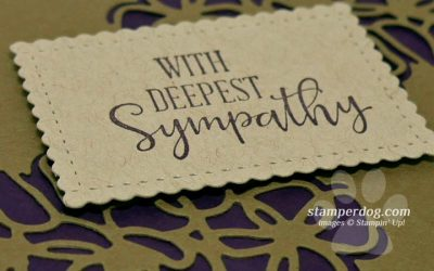 Simple and Elegant Sympathy Card