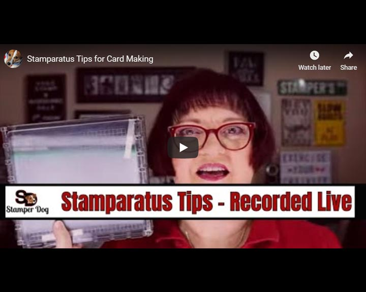 How to Use the Stamparatus