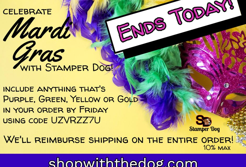 Last Day for Free Shipping