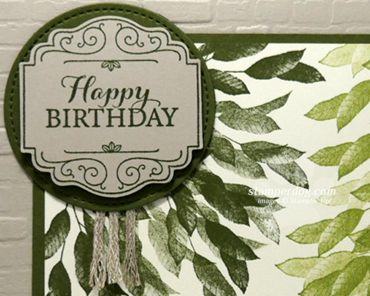 Time for a Masculine Birthday Card