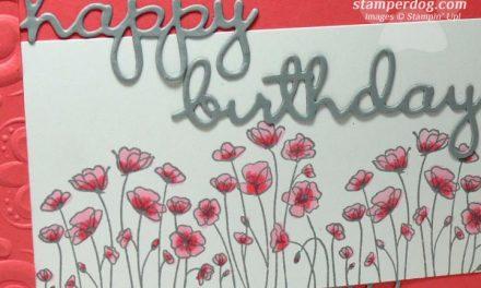 My Pink Birthday Card