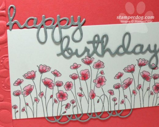 Pink Birthday Card