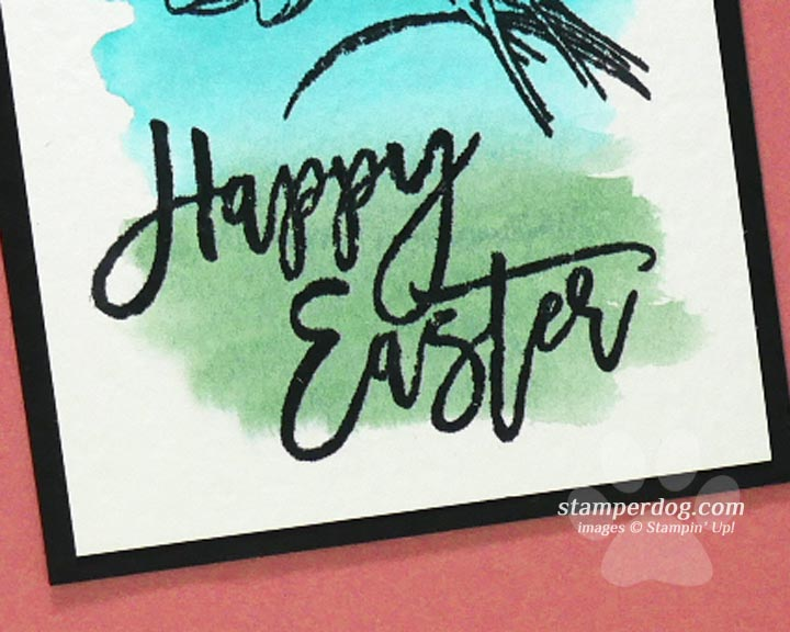 Watercolor Easter Card Idea