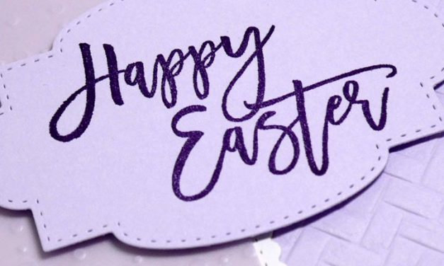 Ready for a Purple Easter Card?