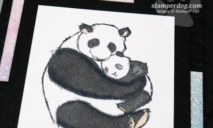 Baby Card with Pandas