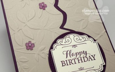 Blackberry Birthday Card