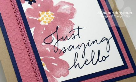 Sneak Peek Hello Card