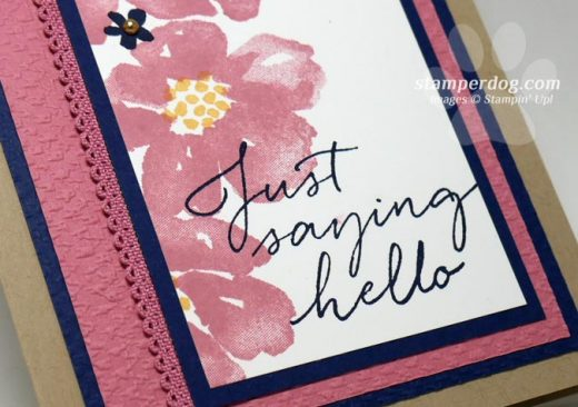 Sneak Peek Hello Card