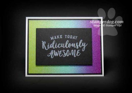 Chalkboard Technique Card