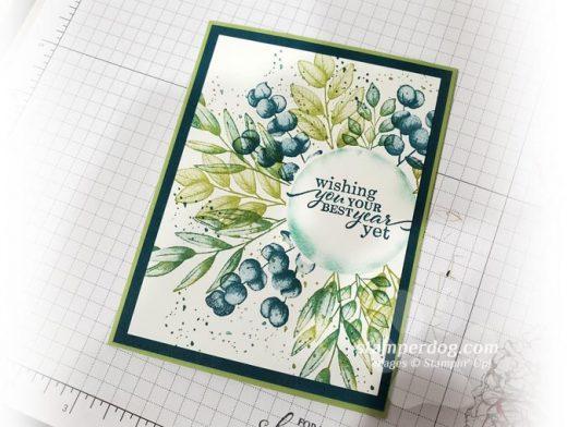 Greenery Card