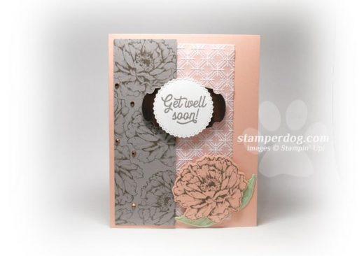 Pink Get Well Card Idea